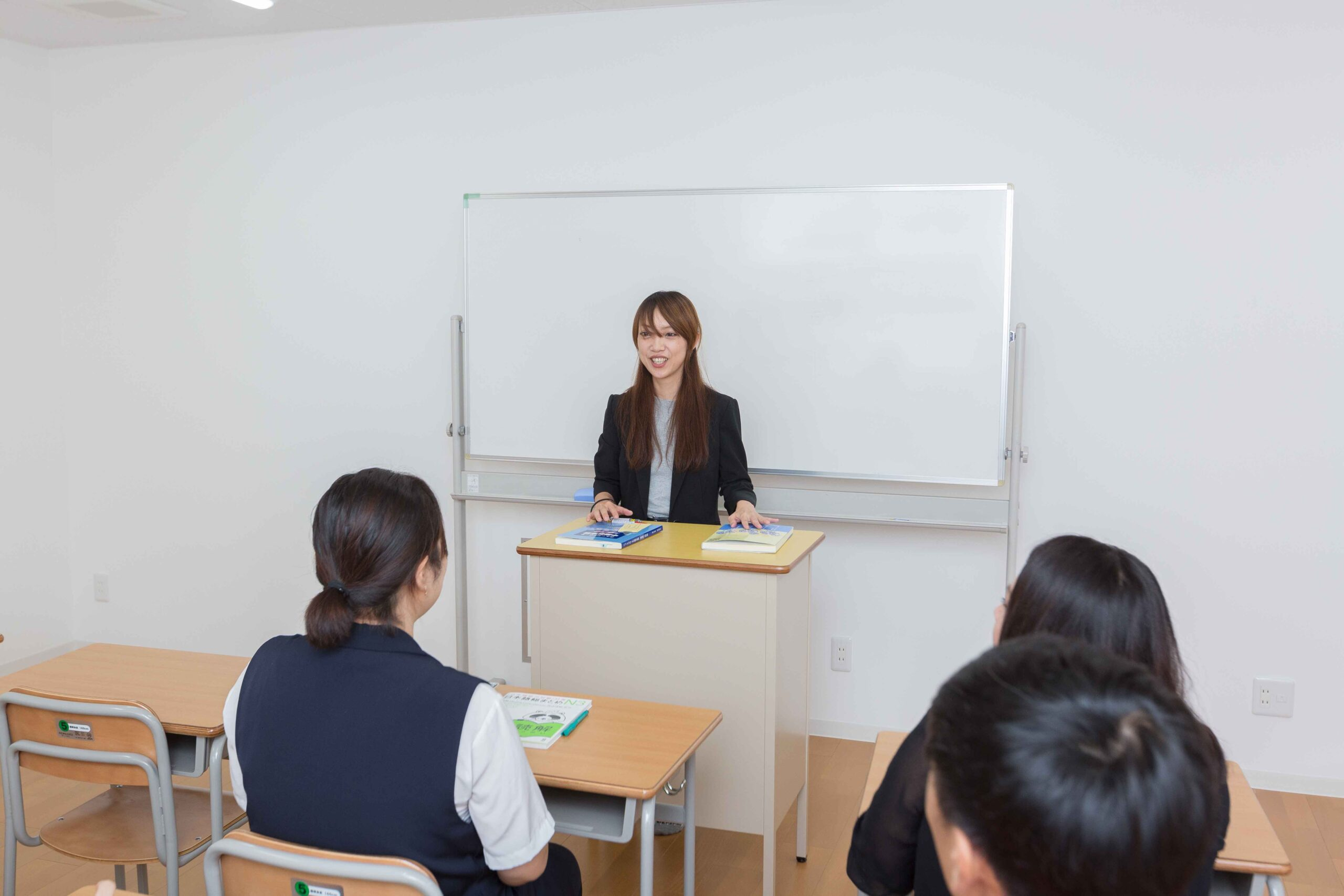 全クラス担任制によるきめ細やかな進学相談