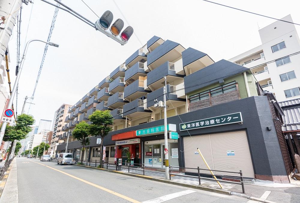 新大阪駅から徒歩10分の好立地